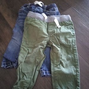 2 pair carter pants